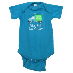 Special Delivery Turq Onesie
