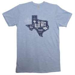 Blue Texas Patch Sm