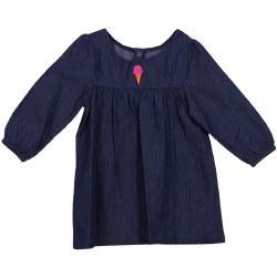 Denim Dress 6-12mth