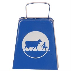 Blue Cow Bell