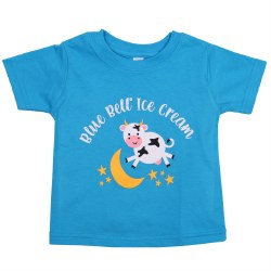 Blue Cow Over Moon Tee 6m