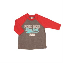 Toddler Grey Red 2T Baseball