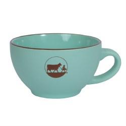 Mint Green Logo Mug