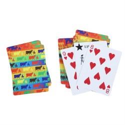 Cards Multi Color Logo