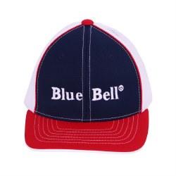 Red Blue White Mesh Yth Cap