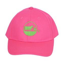 Pink Youth Cap Lime Logo
