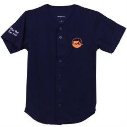 Navy Baseball Jersey XS