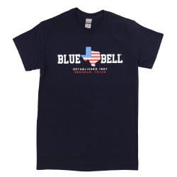 Navy Texas Tee Sm
