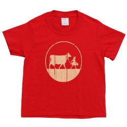 Red Youth Tee Xs