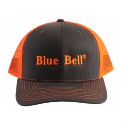 Cap Charcoal Neon Orange Mesh