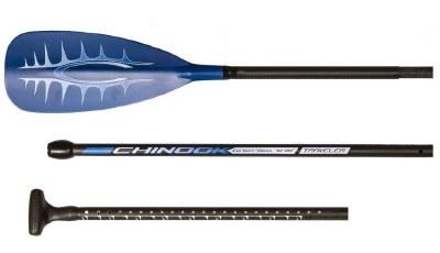 Chinook Blue 3pc Paddle