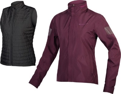 Endura W Urban 3 in 1Jacket XS
