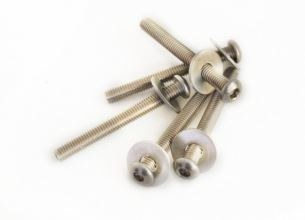 Moses Button Head Screw M6x55m