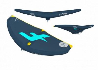 F-One Swing 6.0m Lagoon Slate