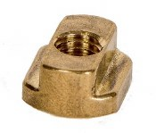 Chin Brass slider T-Nut#90-8mm