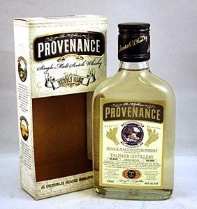 Provenance Speyburn 12yr sherr