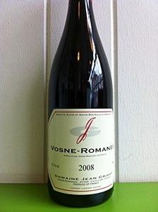 Grivot Vosne R 1C Suchots 2004