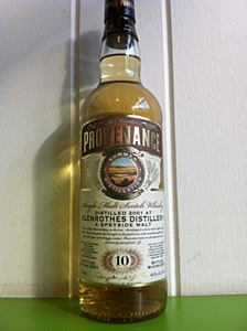 Provenance Glenrothes 10 years