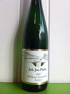 JJ Prum Wehlener Auslese 2007