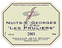 Grivot NSG 1C Pruliers 2003