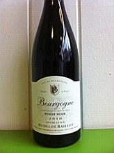Hudelot-Baillet Bourgogne 2012