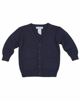 Navy Sweater Knit. 100% Cotton