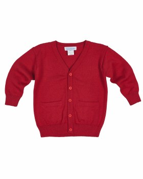 Red Sweater Knit. 100% Cotton
