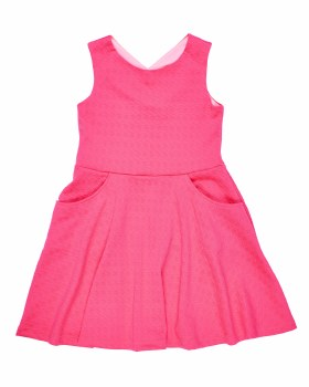 Coral Textured Techno Knit, 95% Polyester 5% Spandex