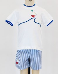 T-Shirt With Sailboat