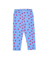 Blue, Fuchsia Apple Leggings, Fuchsia Back Bows