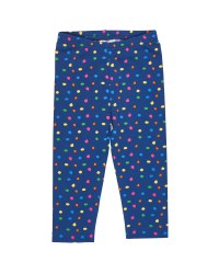 Navy with Multi Dot Legging