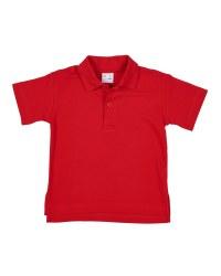 Red Interlock, 100% Cotton