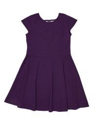 Purple Crepe Techno Knit. 95% Polyester 5% Spandex