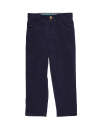 Navy Corduroy.  100% Cotton
