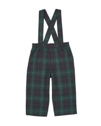 Navy & Green Plaid. 65% Polyester 35% Viscose