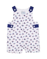 Sailboat Print, 100% Cotton, Lined