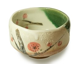 Plum Flower Matcha Bowl