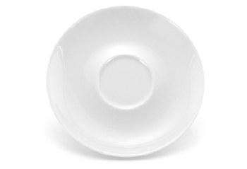 Porcelain Saucer, white