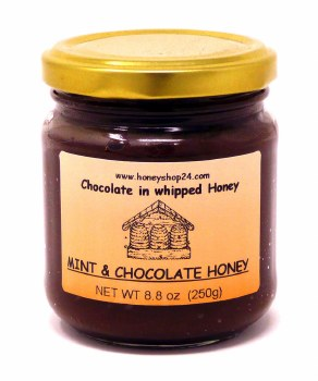 Mint-Chocolate Honey