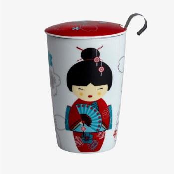Geisha Mug with infuser