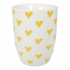 Yellow Hearts Mug