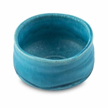 Turquoise Blue Matcha Chawan