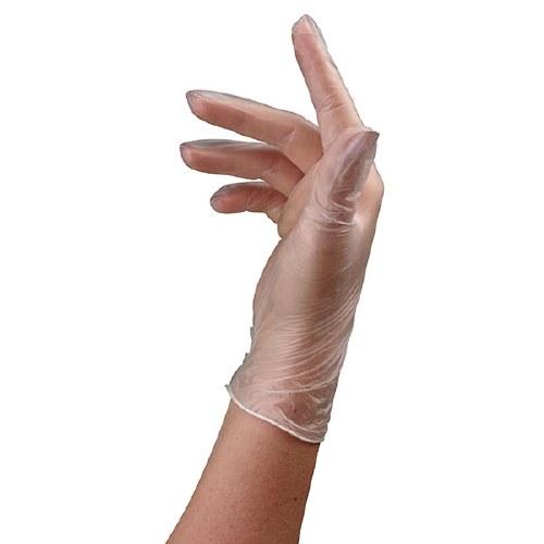 Sinelco Glove Vinyl Med 100pc