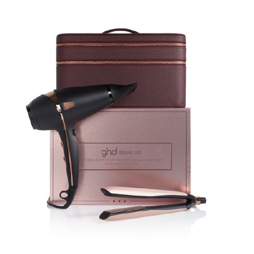 GHD Rose Gold Deluxe Gift Set