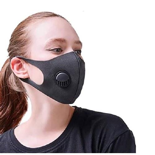 MC Reusable Face Mask Black V