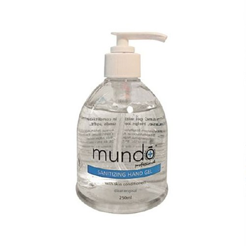 Mundo Sanitizing Hand Gel 250m