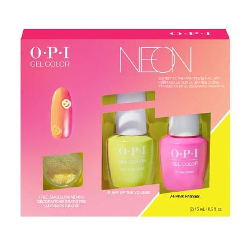 OPI Neon Gel Duo Nail Art Kit