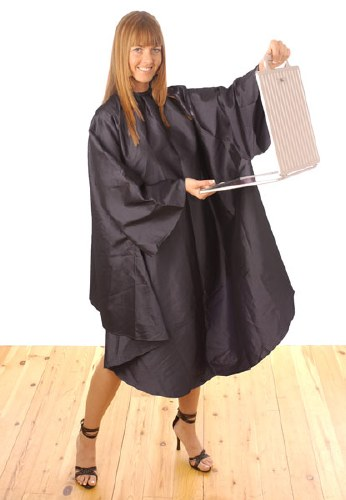 HT Black Gown With Sleeves
