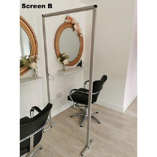 DG Hairdresser Safety Screen B