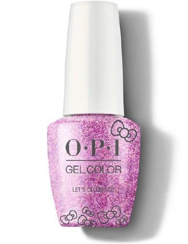 OPI Gel Colour Let's Celebrate